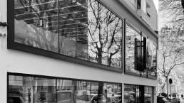 GRUP MANSER, Lidl Carrer Treball, Bcn. 2018: Carpinteria de aluminio / Muros Cortina